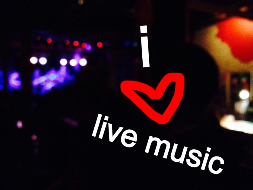 I heart live music