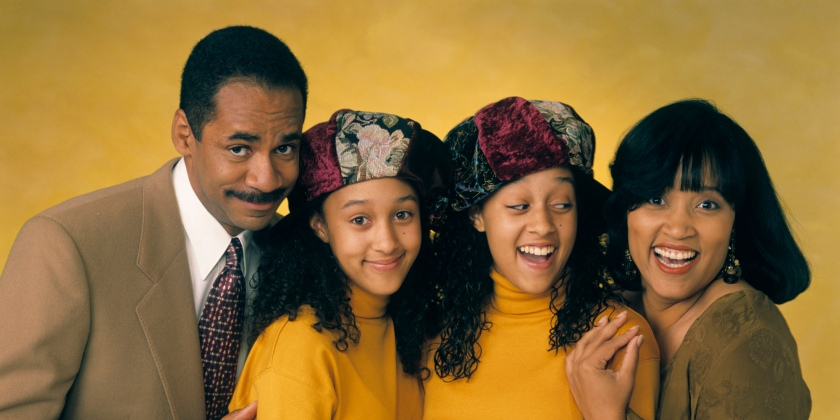 UNITED STATES - MAY 09:  SISTER, SISTER - Gallery 10/6/93 Tim Reid, Tamera Mowry, Tia Mowry, Jackee Harry  (Photo by ABC Photo Archives/ABC via Getty Images)